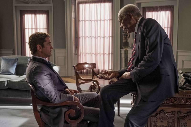 Cod roşu în Serviciile Secrete – Angel has fallen (2019). Sau filmul ăla cu Morgan Freeman, Gerard Butler şi Vladimir Putin