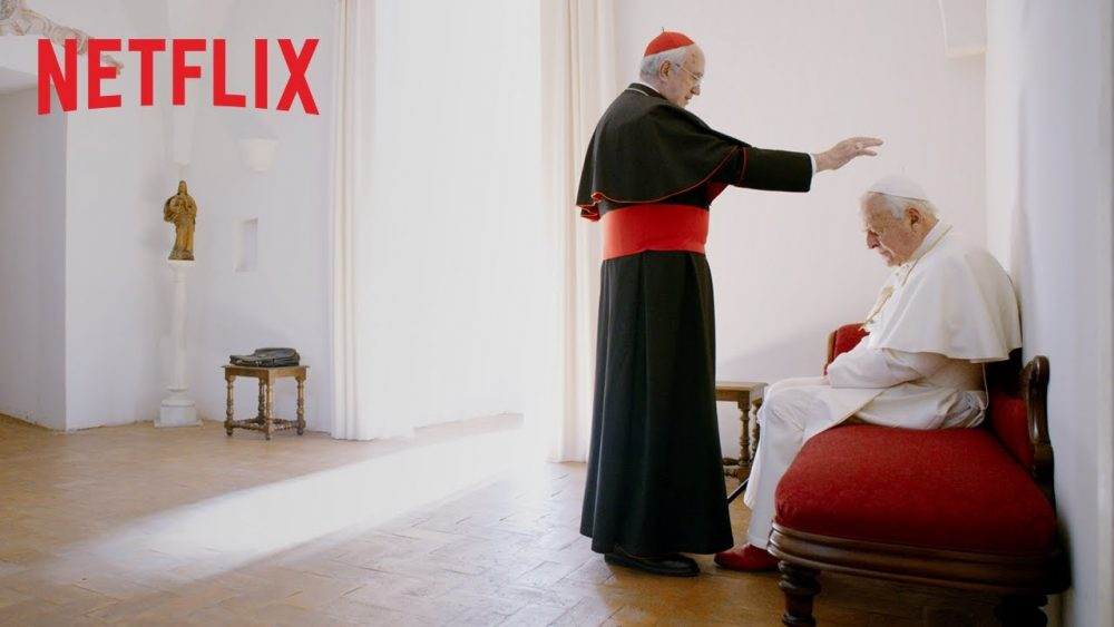 Cei doi papi / The Two Popes (2019), un film Netflix pe care trebuie să-l vezi