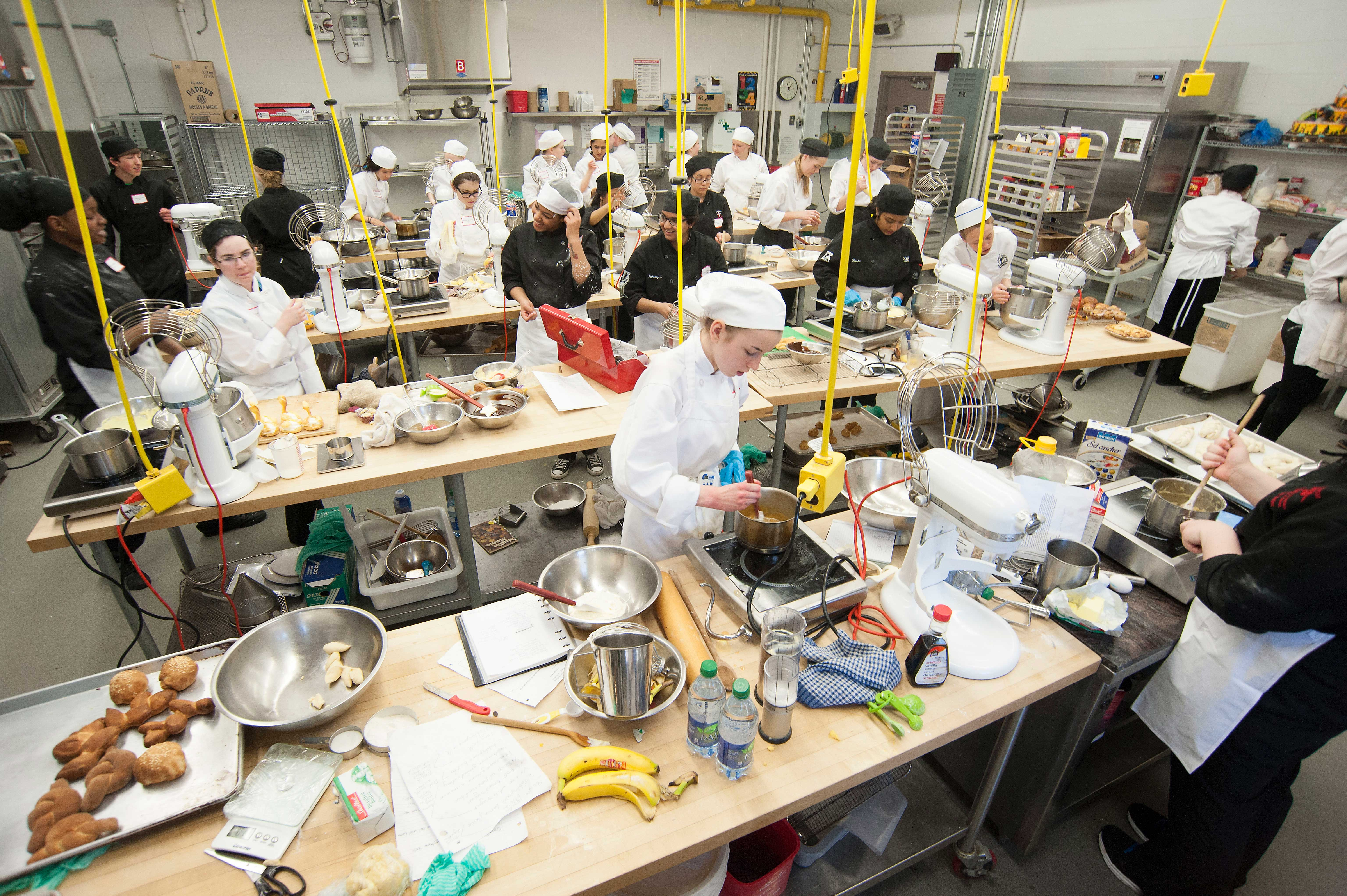 High School Students Cook Up A Storm In Culinary