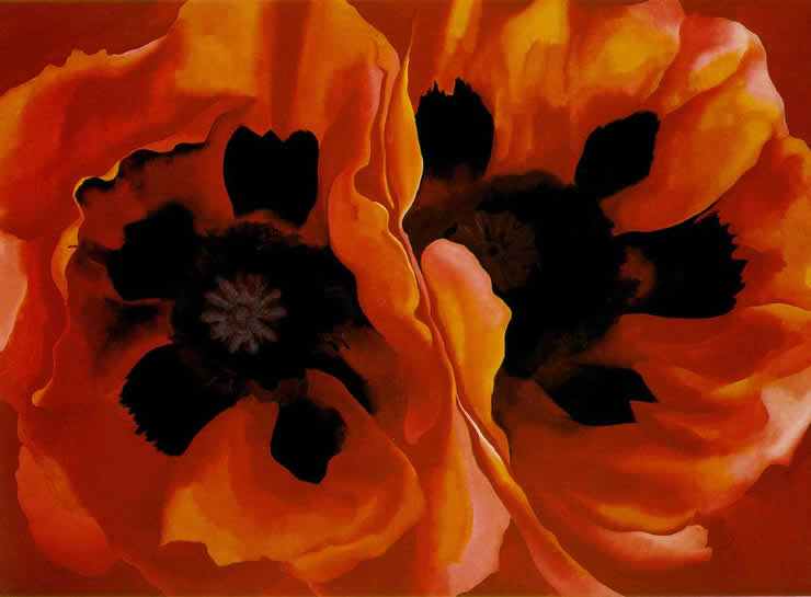Image result for georgia o'keeffe paintings