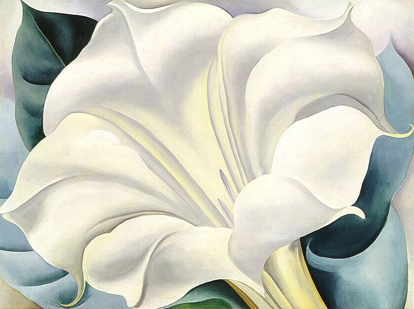the white flower 1932