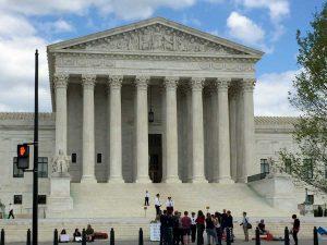The Supreme Court Building in Washington, DC  Photo:  Jon Richards