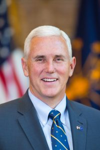 Your next VP? Maybe Photo Credit: Office of the Governor of Indiana