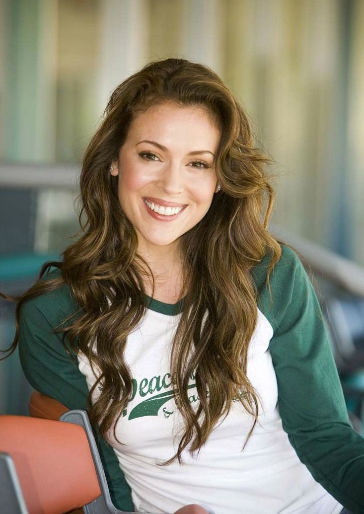 Alyssa Milano Hair Haircolor Georgiapol