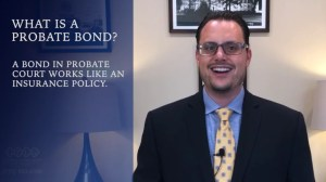 How does probate bond work