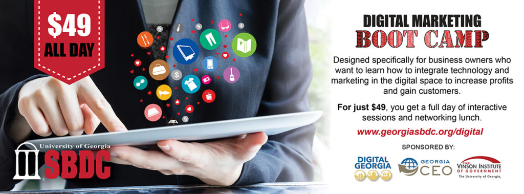UGA SBDC | 2016 Digital Marketing Bootcamp Marches On