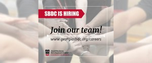 SBDC is hiring - join our team!