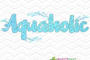 Aquaholic 1