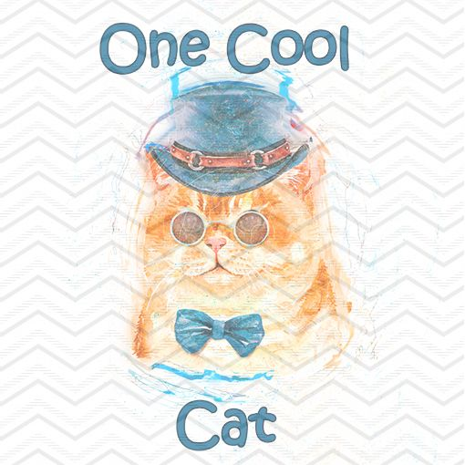 One Cool Cat SweetPNG