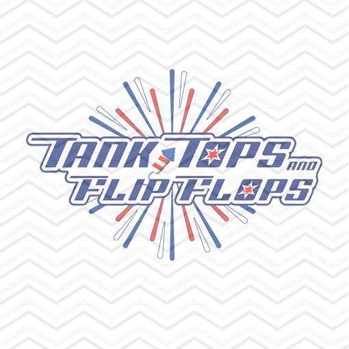 Tank Tops Flip Flops 1