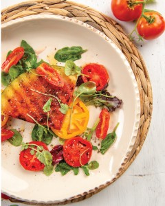 Grilled Watermon Tomato Salad Matthew Raiford Lowcountry Broil Photography By Siobhan Egan