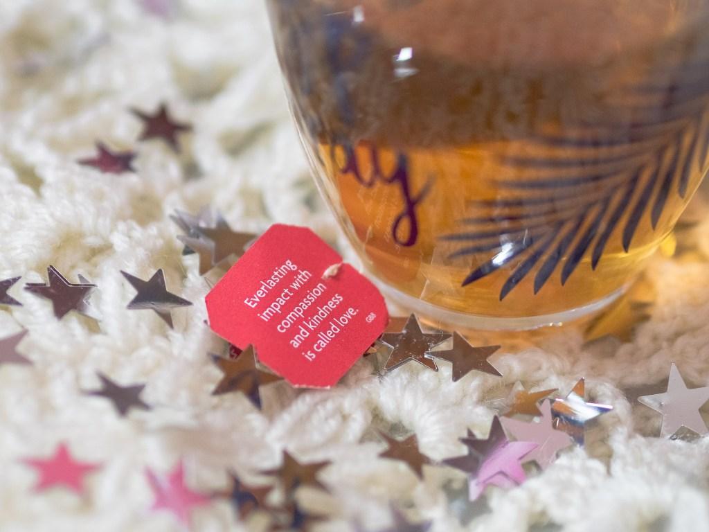 zoella lifestyle mug yogi tea quote