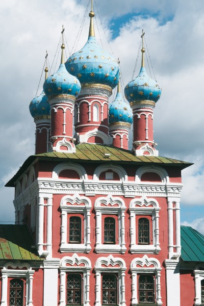 The Church of St. Dmitry on the Blood