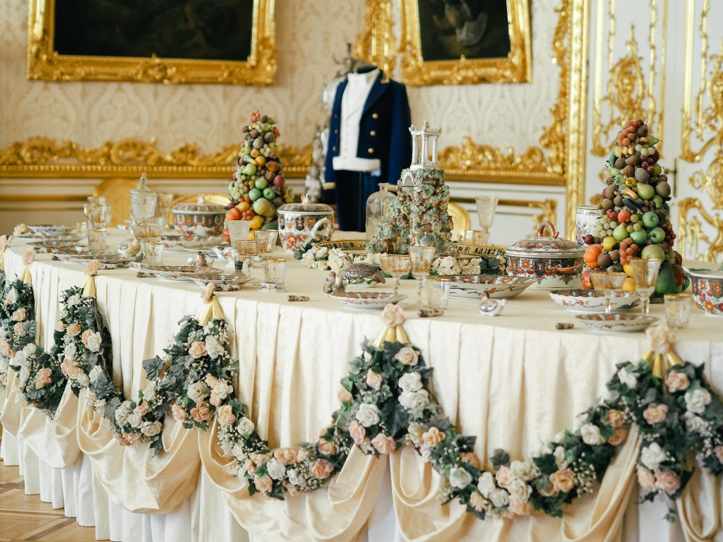 catherine's palace banquet
