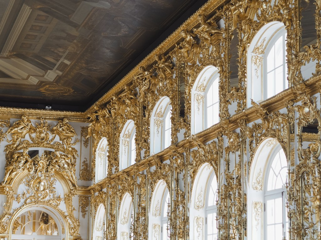 catherine's palace grand hall