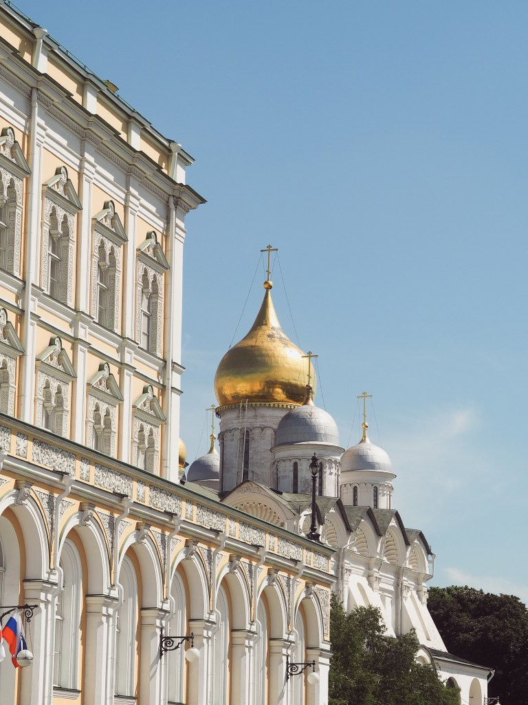 kremlin palace cathedral square, moscow