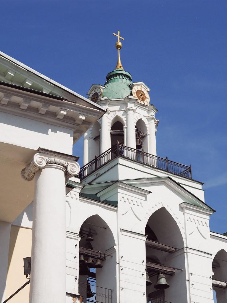 transfiguration monastery yaroslavl bell tower