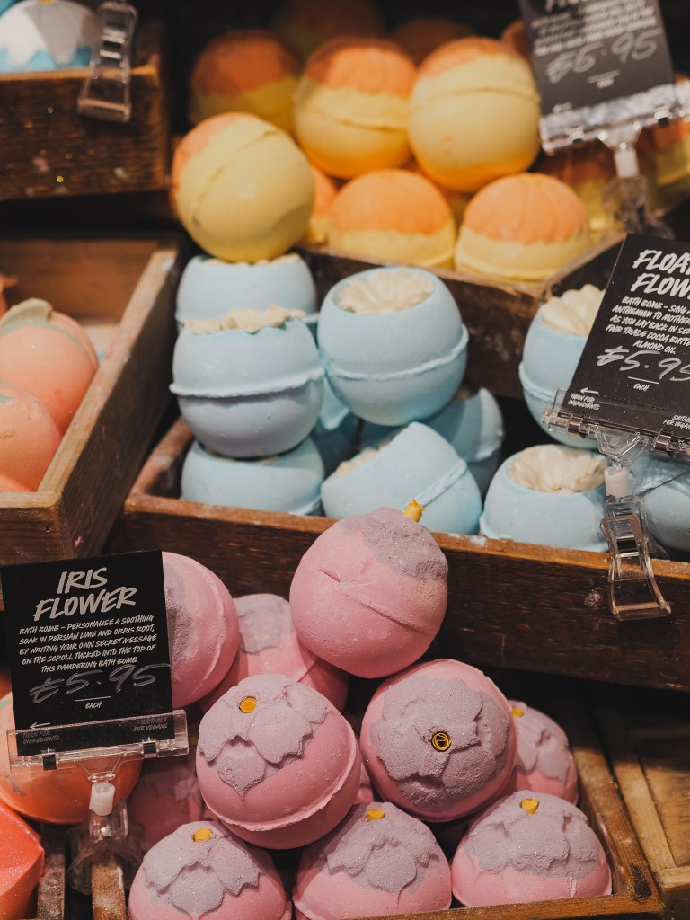 lush cosmetics mother's day range