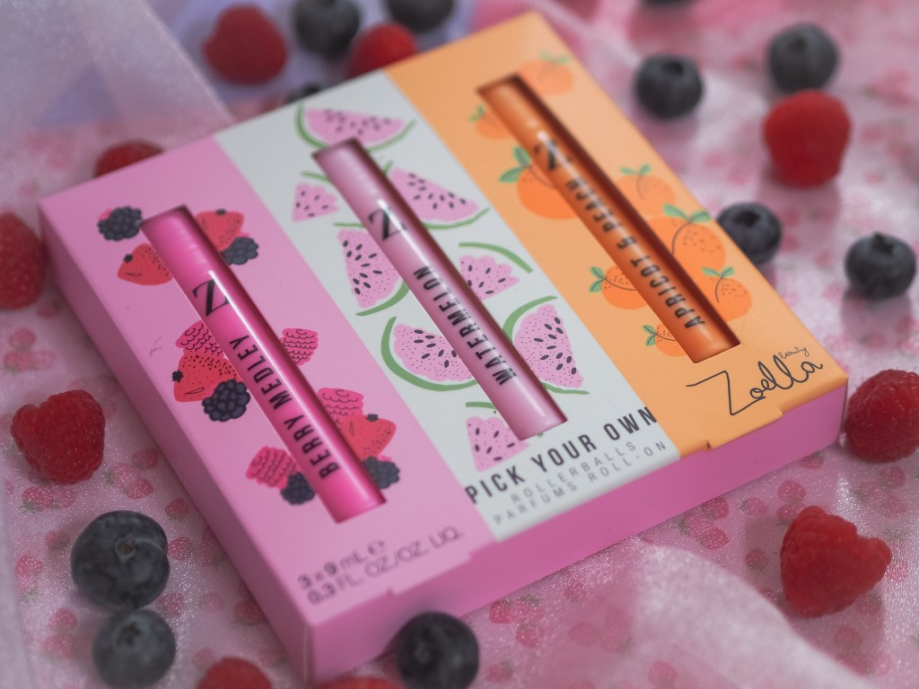 Zoella Fruits Pick Your Own Rollerballs