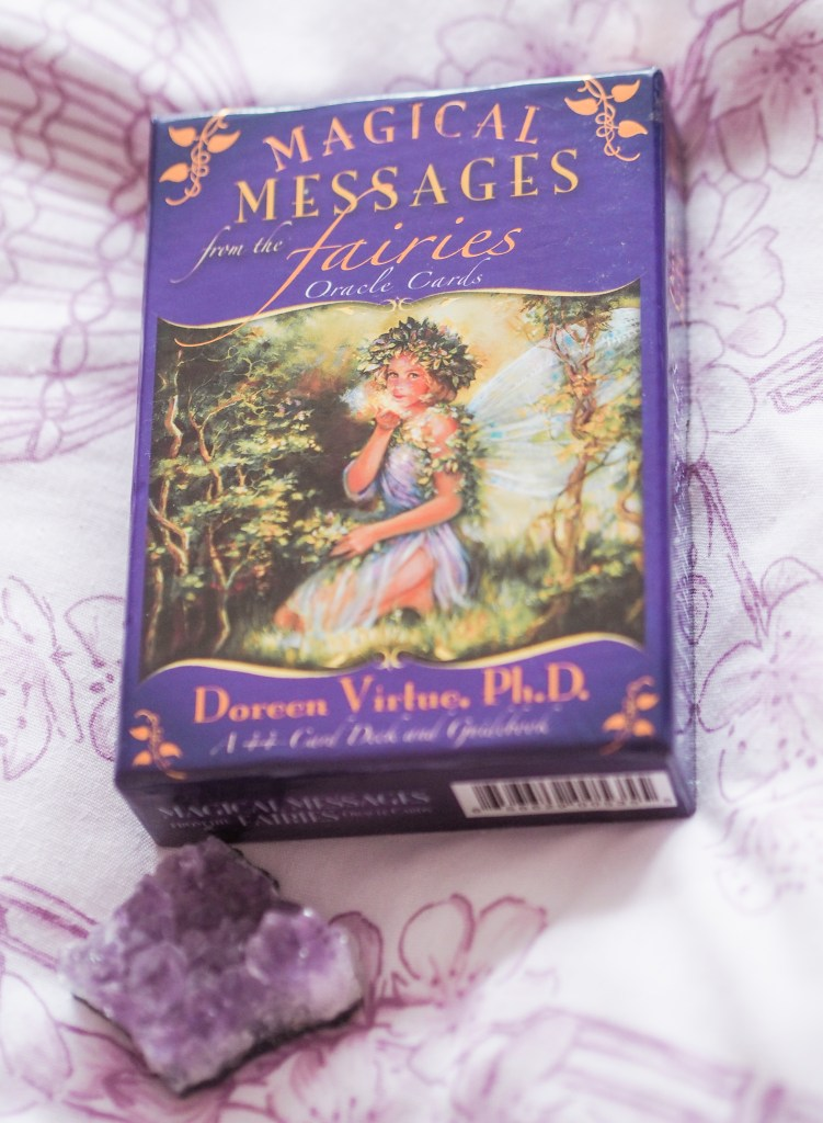 Magical-Messages-From-The-Fairies-Oracle-Cards-by-Doreen-Virtue-Review