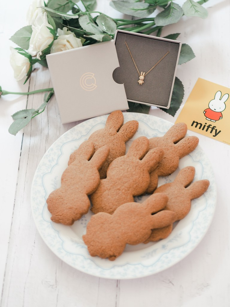 Dairy-Free-Dutch-Inspired-Speculaas-Recipe-miffy-shaped-licensed-to-charm-jewellery-collection