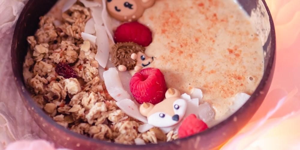 Low-FODMAP Pumpkin Spice Smoothie Bowl for GERD and Gastroparesis (Vegan + Dairy-Free + Gluten-Free)