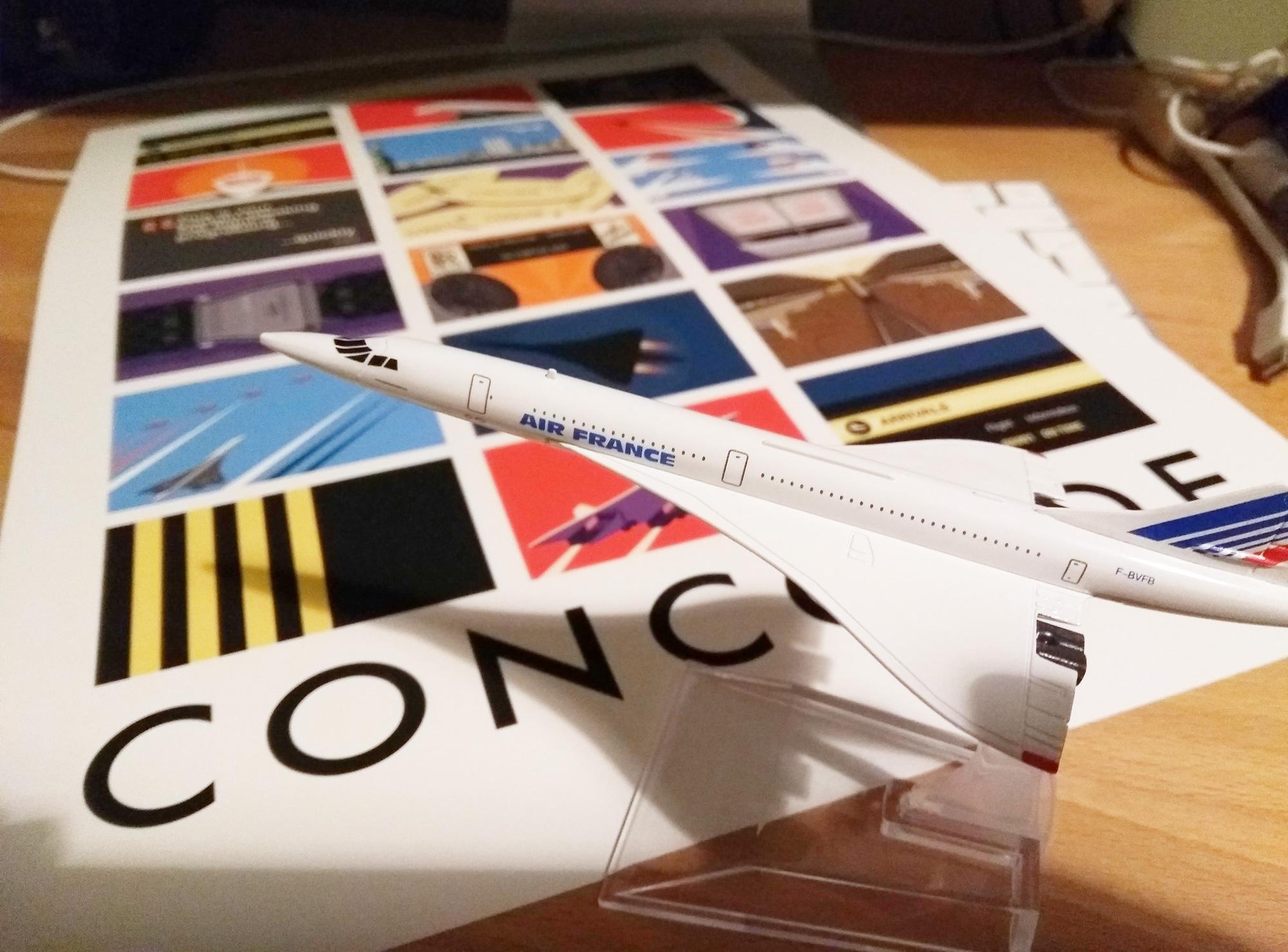 Diecast Concorde