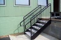 Wrought Iron Railings & Pipe Railing - South Jersey Custom ...