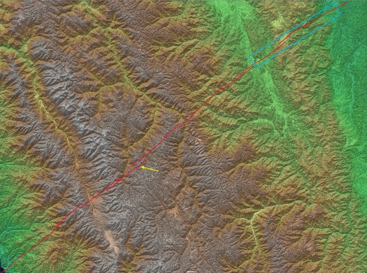 Mapping fundamental basement structures with satellite data