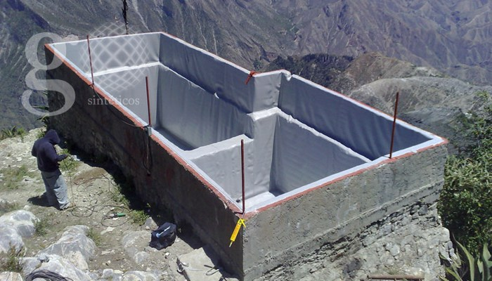 Geosintéticos - Cisternas y tanques elevados