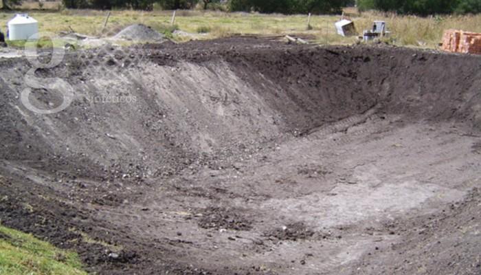 Geosinteticos México - Embalses - Excavar