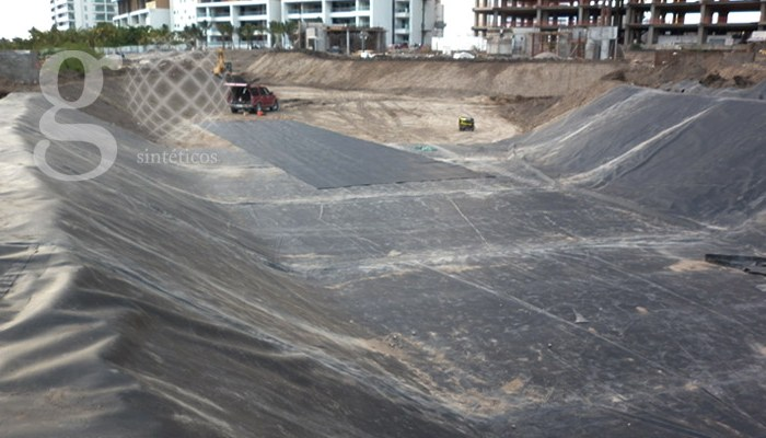 Geosinteticos México - Lagos artificiales