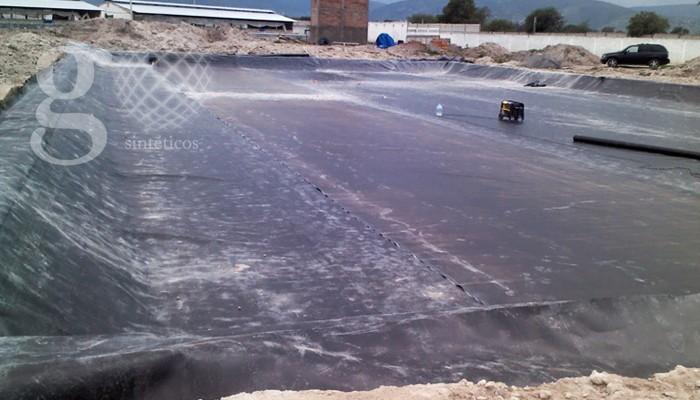 Geosinteticos lagunas estabilizacion- impermeabilizar