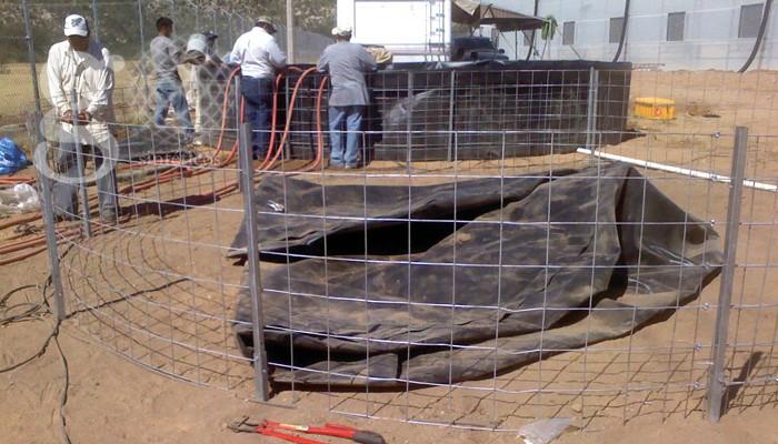 Geosintéticos México - Proyectos - tanques circulares