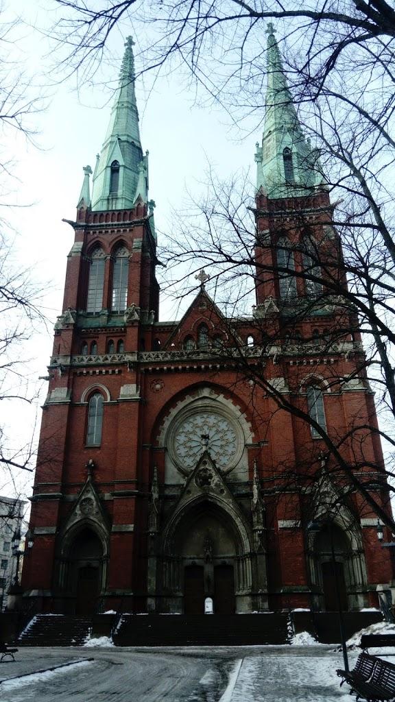 gotycki kościół świętego Jana w Helsinkach