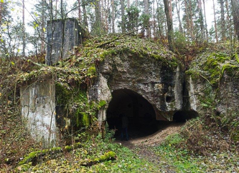 fort IV Twierdza Osowiec prochownia