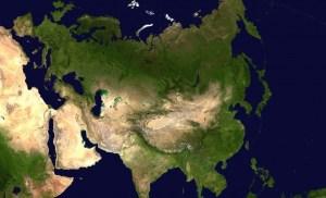 Macht verschuift richting Eurazië