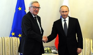 """Juncker: """"Geen Europese veiligheidsagenda zonder Rusland"""""""