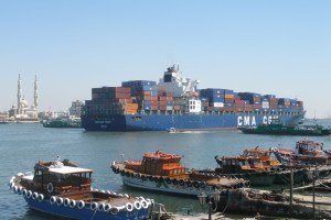 Rusland bouwt industriële zone bij Suezkanaal