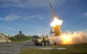VS voert raketlancering uit boven Stille Oceaan