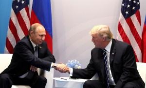 """Trump: """"Het zou goed zijn als we konden samenwerken met Rusland"""""""