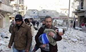 Syrië en Rusland starten reddingsoperatie in oosten van Ghouta