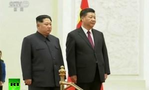 Kim Jong-un brengt staatsbezoek aan China