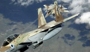 Israëlische gevechtsvliegtuigen voeren aanval uit op Syrische luchtbasis