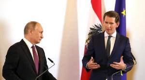 Oostenrijk wil handelsrelatie met Rusland versterken