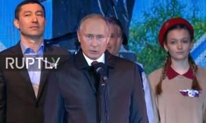 Rusland viert vijf jaar hereniging met de Krim