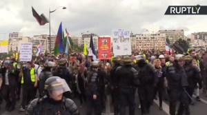 Demonstraties gele hesjes al zes maanden bezig