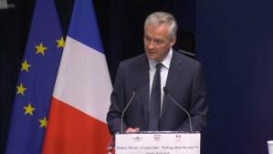 """Le Maire: """"Bretton Woods systeem heeft zijn grenzen bereikt"""""""