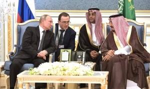 Rusland en Saoedi-Arabië sluiten miljardendeals