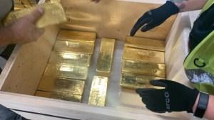 Rusland schroeft export goud op naar 115 ton